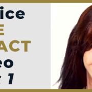 practice eye contact video